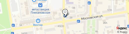Донбасс-Тур на карте Макеевки