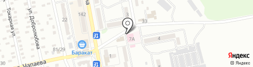 Макеевский комбинат детского питания на карте Макеевки