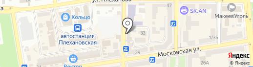 Хорошая на карте Макеевки