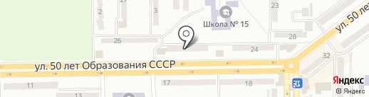 Участковый пункт милиции №8 на карте Макеевки