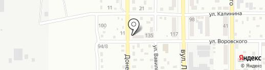 Донецкий лабораторный центр госсанэпидслужбы, ГУ на карте Макеевки