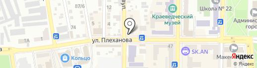 Магазин текстиля для дома на карте Макеевки