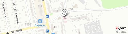 МКДП на карте Макеевки