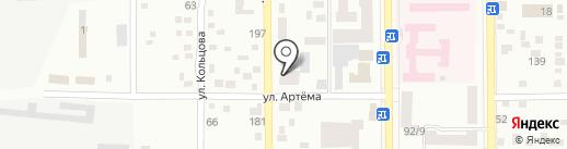 Теплый дом на карте Макеевки