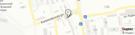 Крутой поворот на карте Макеевки