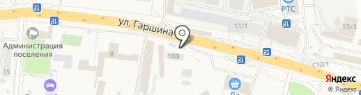 Сады Подмосковья на карте Томилино
