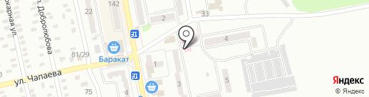 Галадент на карте Макеевки