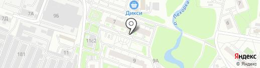 Мортон Телеком на карте Железнодорожного