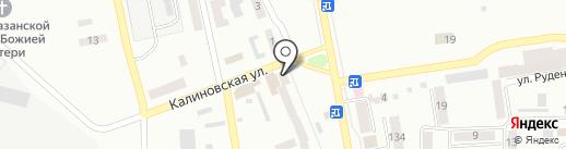 Эдем на карте Макеевки
