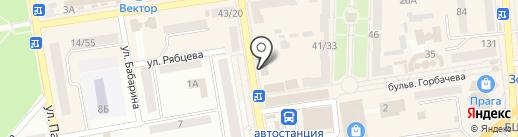 Конфискат на карте Макеевки