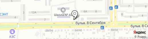 Барбарис на карте Макеевки