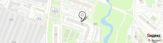 АэроТД на карте Балашихи