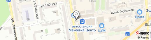 В яблочко на карте Макеевки