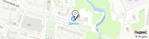 Мастерская на карте Железнодорожного