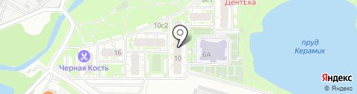 Южное Кучино 2 на карте Железнодорожного