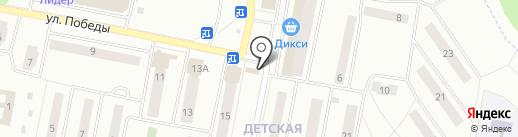 БережОК на карте Ивантеевки