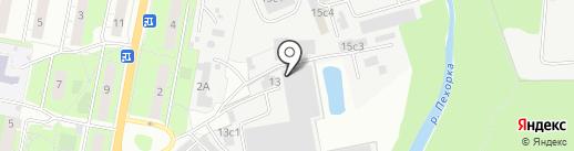 Центр на карте Балашихи