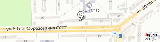 Участковый пункт полиции №8 на карте Макеевки