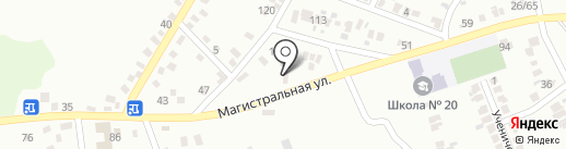 Шинник, КП на карте Макеевки