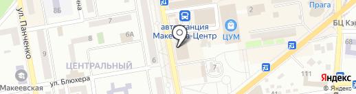 Montenapoleone на карте Макеевки