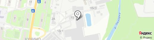Миртекс М на карте Балашихи