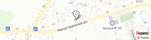 Шинник на карте Макеевки