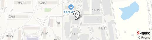 КОНТУРС-СДМ на карте Томилино