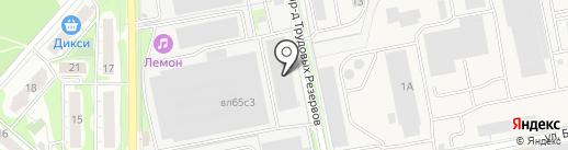 Вило Рус на карте Балашихи