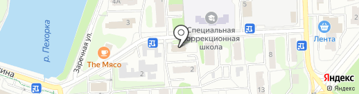 Бал лимузинов на карте Балашихи