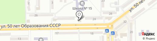 Украина на карте Макеевки