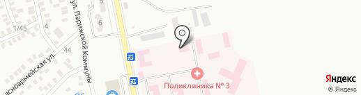 Городская больница №3 на карте Макеевки