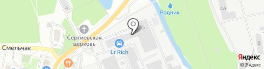 Эксперт-мастер на карте Железнодорожного