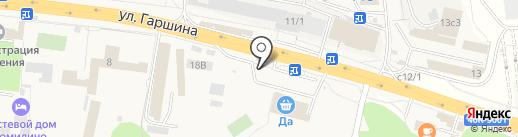 Болок на карте Томилино