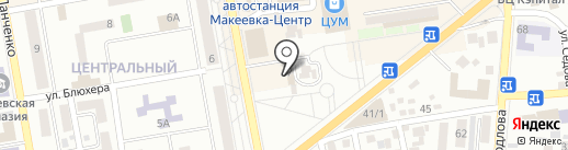 Marvel bar на карте Макеевки