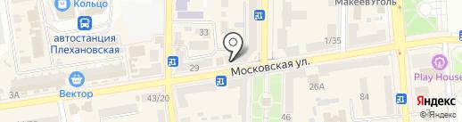 Назад в СССР на карте Макеевки