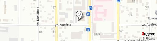 Музыкальная школа №1 г. Макеевки на карте Макеевки