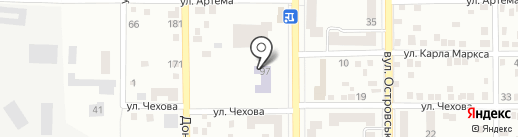 МЭГИ на карте Макеевки
