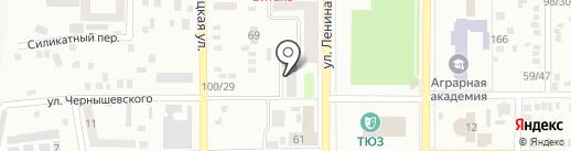 Эдельвейс на карте Макеевки