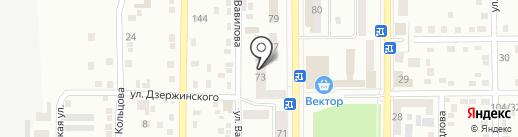 Центральная городская библиотека им. М. Горького, г. Макеевка на карте Макеевки