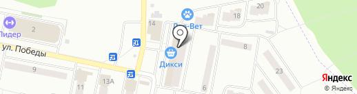 НУГА БЕСТ на карте Ивантеевки