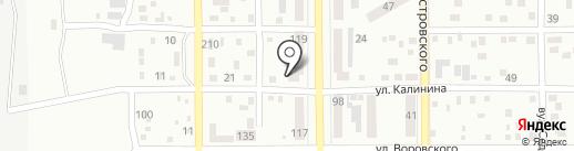 Харчевня Трех Пескарей на карте Макеевки