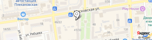 АБ Укргазбанк на карте Макеевки
