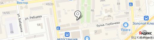 Цацки на карте Макеевки