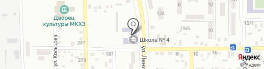 Макеевская общеобразовательная школа I-III ступеней №4 на карте Макеевки