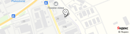 МОСЧЕРМЕТ на карте Лыткарино