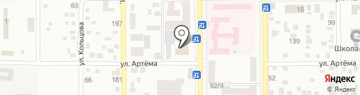 Вечерняя Макеевка на карте Макеевки