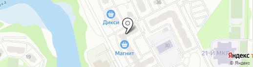 Еж на карте Балашихи