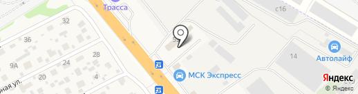 Автокомплект на карте Октябрьского