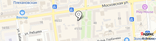 Барби на карте Макеевки