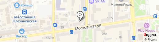 Ремонтная мастерская на карте Макеевки